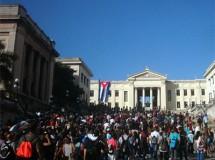 Buena parte de los cubanos contemporáneos, de muchas formas tienen incorporado en la memoria  afectiva el primer día de clases.  Foto de Jorge Sariol